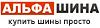 Альфа Шина, магазин автотоваров