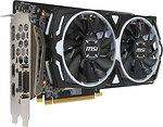 Фото MSI Radeon RX 580 Armor OC 8GB 1366MHz (Radeon RX 580 ARMOR 8G OC)