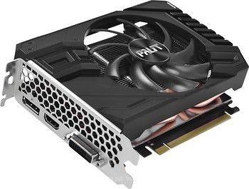 Фото Palit GeForce GTX 1660 Ti StormX OC 6GB 1500MHz (NE6166TS18J9-161F)