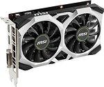 Фото MSI GeForce GTX 1650 Ventus XS OC 4GB 1485MHz (GeForce GTX 1650 VENTUS XS 4G OC)