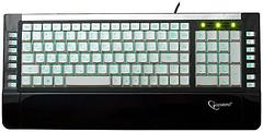 Gembird KB-9630SB-R White-Blue USB+PS/2