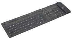 Gembird KB-109F-B-RU Black USB+PS/2