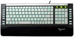 Gembird KB-9630SB-RUA White-Blue USB+PS/2