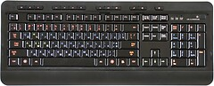 HQ-Tech KB-310FMC Black USB