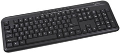 Gembird KB-M-101-RU Black PS/2