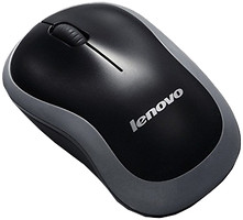 Lenovo Wireless Mouse N1901 Gray-Black USB