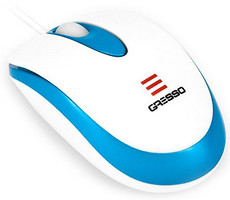 Gresso GM-5108 White-Blue USB