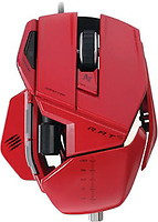 Cyborg R.A.T 5 Gaming Mouse Red USB