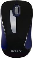 Delux DLM-377GB+G01UF Black-Blue USB