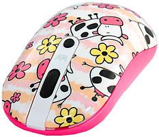 Crown CMM-926W Cow White-Pink USB