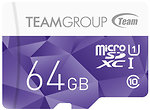 Фото Team Group Color Card microSDXC Class 10 UHS-I U1 64Gb