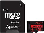 Фото Apacer R85 microSDHC Class 10 UHS-I 16Gb