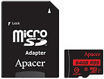 Фото Apacer R85 microSDXC Class 10 UHS-I 64Gb