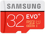 Фото Samsung Evo+ microSDHC Class 10 UHS-I U1 32Gb