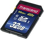 Фото Transcend Premium SDHC Class 10 UHS-I 400x 32Gb (TS32GSDU1)