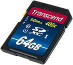 Фото Transcend Premium SDXC Class 10 UHS-I 400x 64Gb