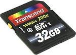 Фото Transcend Premium SDHC Class 10 200x 32Gb (TS32GSDHC10)