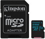 Фото Kingston Canvas Go! microSDXC UHS-I U3 V30 64Gb