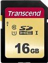 Фото Transcend 500S SDHC Class 10 UHS-I 16Gb