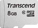 Фото Transcend 300S microSDHC Class 10 8Gb