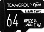 Фото Team Group Dash Card microSDXC Class 10 UHS-I U1 64Gb