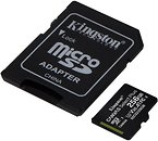 Фото Kingston Canvas Select Plus microSDXC Class 10 UHS-I U1 256Gb (SDCS2/256GB)