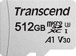 Фото Transcend 300S MicroSDXC Class 10 UHS-I U3 A1 V30 512Gb