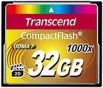 Фото Transcend CompactFlash 1000x 32Gb