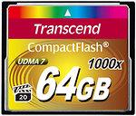 Фото Transcend CompactFlash 1000x 64Gb