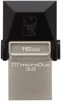 Фото Kingston DataTraveler Micro Duo 3.0 16 GB (DTDUO3/16GB)