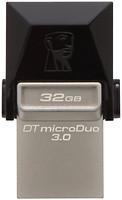 Фото Kingston DataTraveler Micro Duo 3.0 32 GB (DTDUO3/32GB)