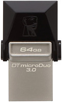 Фото Kingston DataTraveler Micro Duo 3.0 64 GB (DTDUO3/64GB)