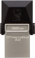 Фото Kingston DataTraveler Micro Duo 3C 32 GB (DTDUO3C/32GB)