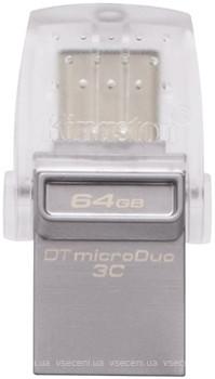Фото Kingston DataTraveler Micro Duo 3C 64 GB (DTDUO3C/64GB)