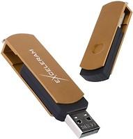 Фото Exceleram P2 Series Brown-Black 3.1 Gen 1 32 GB (EXP2U3BRB32)