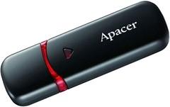 Фото Apacer Handy Steno AH333 Black 64 GB (AP64GAH333B-1)