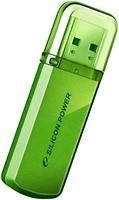 Фото Silicon Power Helios 101 Green 8 GB (SP008GBUF2101V1N)