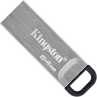 Фото Kingston Kyson Silver 64 GB (DTKN/64GB)