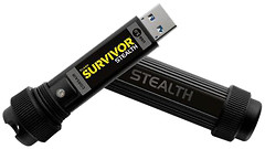 Фото Corsair Flash Survivor Stealth B 256 GB (CMFSS3B-256GB)