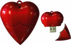 Фото Flexus Сердце красное 8 GB