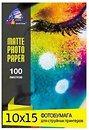 Фото InkSystem Matte Photo Paper 180g 10x15 100л
