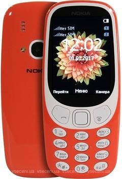 Фото Nokia 3310 Warm Red Dual Sim