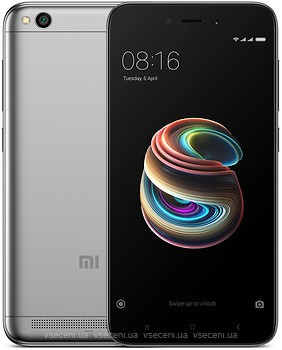 Фото Xiaomi Redmi 5A 2/16Gb Dark Gray