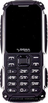 Фото Sigma Mobile X-treme PT68 Black