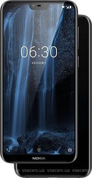 Фото Nokia 6.1 Plus (Nokia X6) 4/64Gb Black Dual Sim