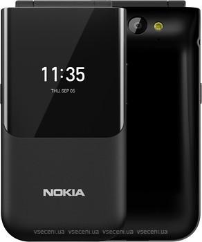 Фото Nokia 2720 Flip Black Single Sim