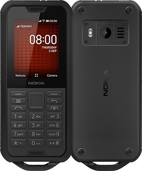 Фото Nokia 800 Tough Black Steel