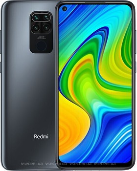 Фото Xiaomi Redmi Note 9 3/64Gb Onyx Black