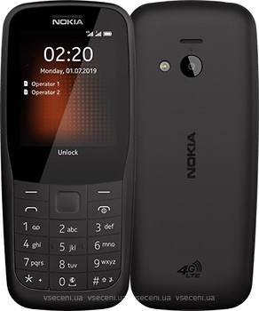 Фото Nokia 220 4G Black Dual Sim