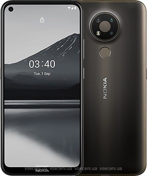 Фото Nokia 3.4 3/64Gb Charcoal